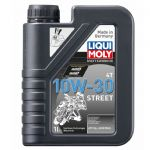 Liqui Moly 4-Stroke Semi-Synthetic Street Oil - 10w/30